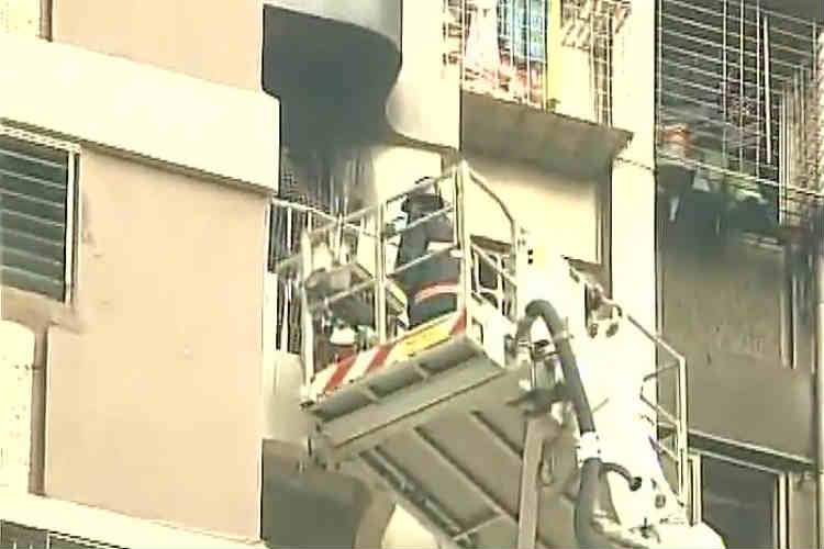 Two dead, 11 rescued as high-rise in Mumbai's Cuffe Parade area catchesfire