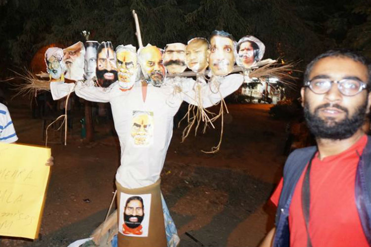 Why target JNU activists for burning PM Modi's effigy? #RightToProtest