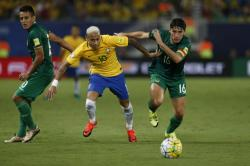 Neymar inspired Brazil ousts Bolivia 5-0 in the World Cupqualifier