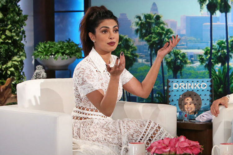 Priyanka Chopra Ellen Show | YouTube Image For InUth.com