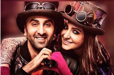 Ranbir Kapoor Anushka Sharma in Ae Dil Hai Mushkil Twitter photo for InUth dot com