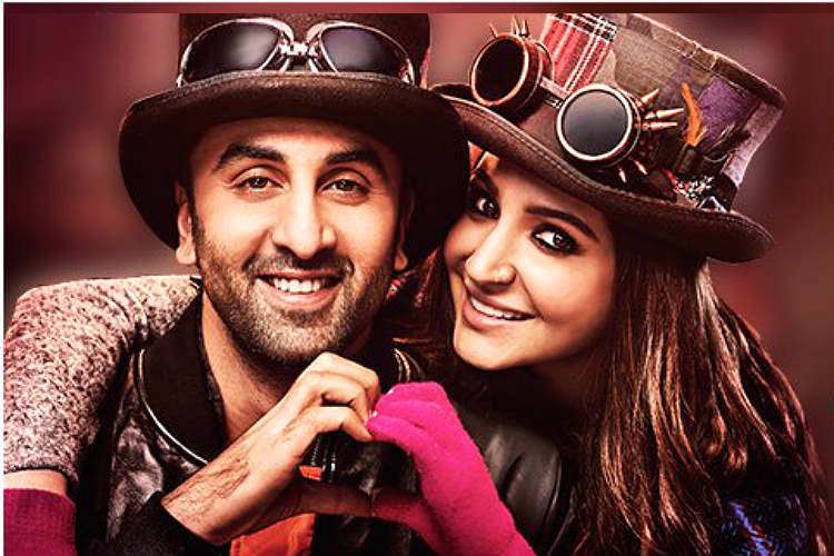 Ranbir Kapoor Anushka Sharma in Ae Dil Hai Mushkil Twitter photo for InUth dot com