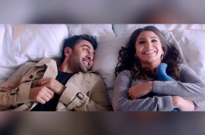 Ranbir Kapoor and Anushka SHarma in Ae Dil Hai Mushkil YouTube screen grab for InUth. com