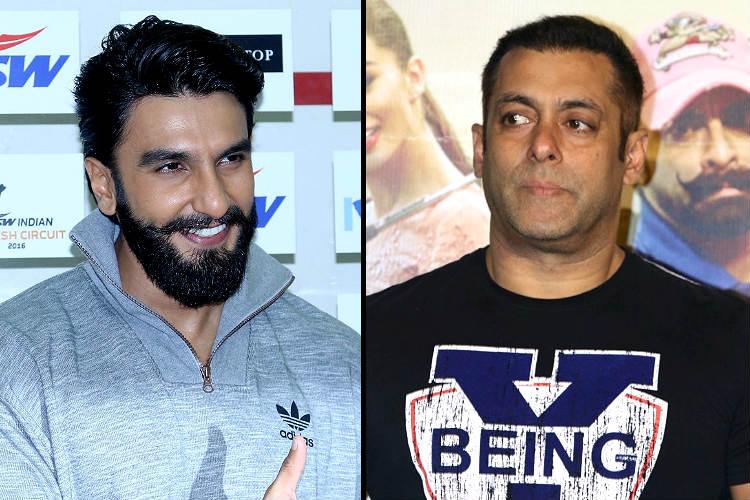 Will Ranveer Singh replace Salman Khan as Thumbs Up brand ...