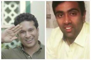 R Ashwin, Sachin Tendulkar