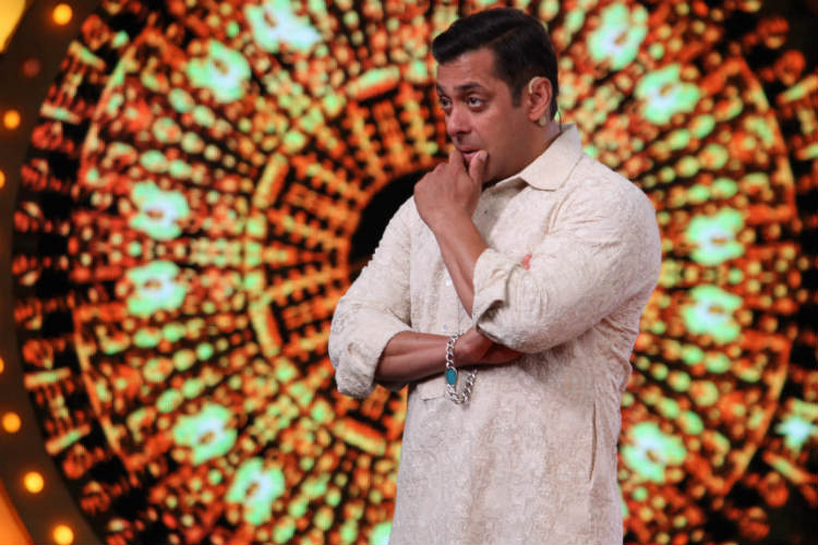 Salman Khan in Bigg Boss 10 Colors TV photo for InUth.com