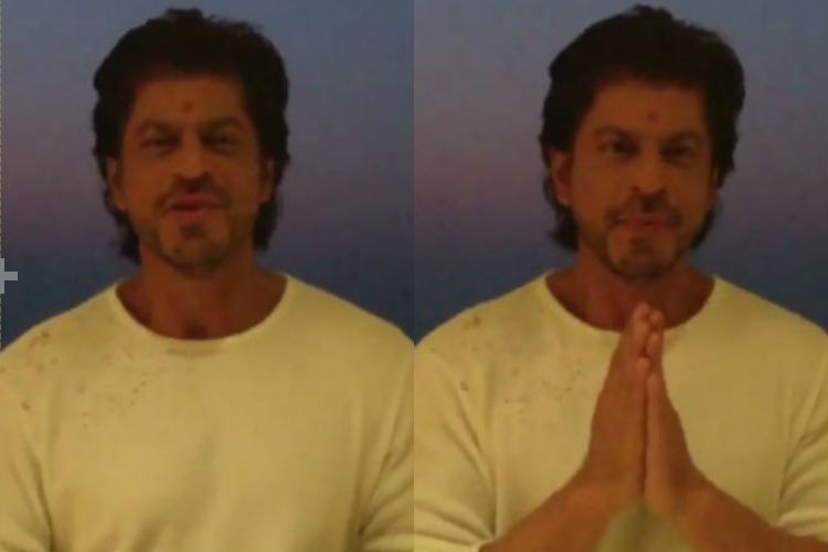 Shah Rukh Khan recites a beautiful self-written poem for our jawans on Diwali
