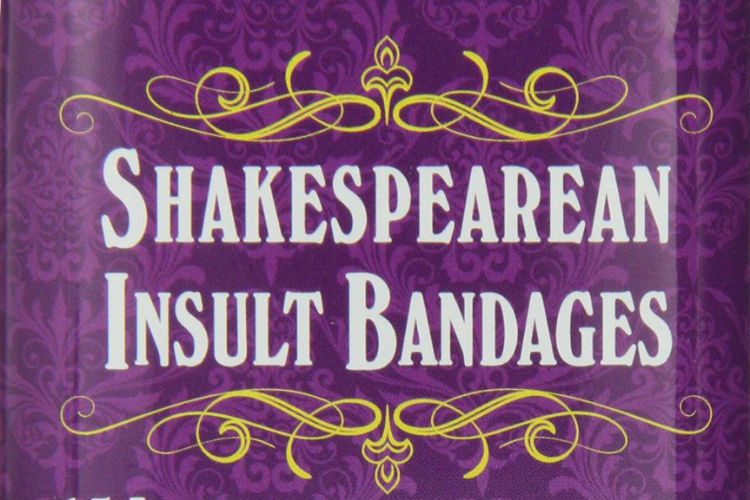Shakespear Insult Bandage Diwali Gift | Amazon Image For InUth.com