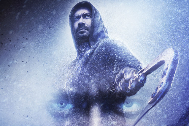 Shivaay Poster, Shivaay trailer, Shivaay, Ajay Devgn (Courtesy: Universal Pr-Parag Desai)