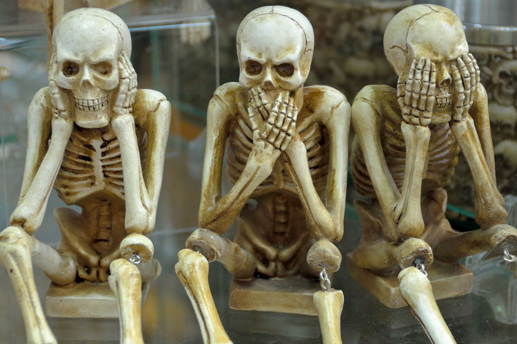 Skeleton, Halloween