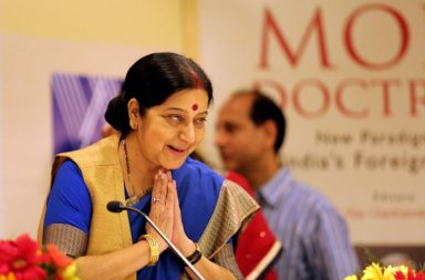 File photo of External Affairs Minister Sushma Swaraj (Photo: Express/ Praveen Khanna)