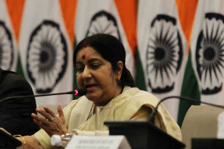 Those supporting terrorists must pay for their actions, says Sushma