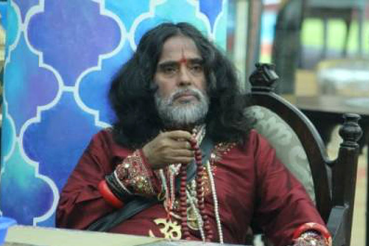 Swami Om in Bigg Boss 10 (Courtesy: Colors TV)