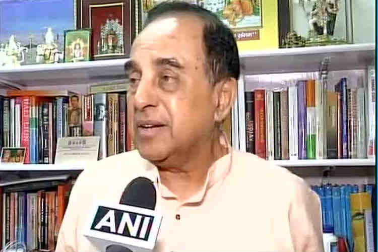 As Jayalalitha ails, Subramanian Swamy wants President's rule in Tamil Nadu