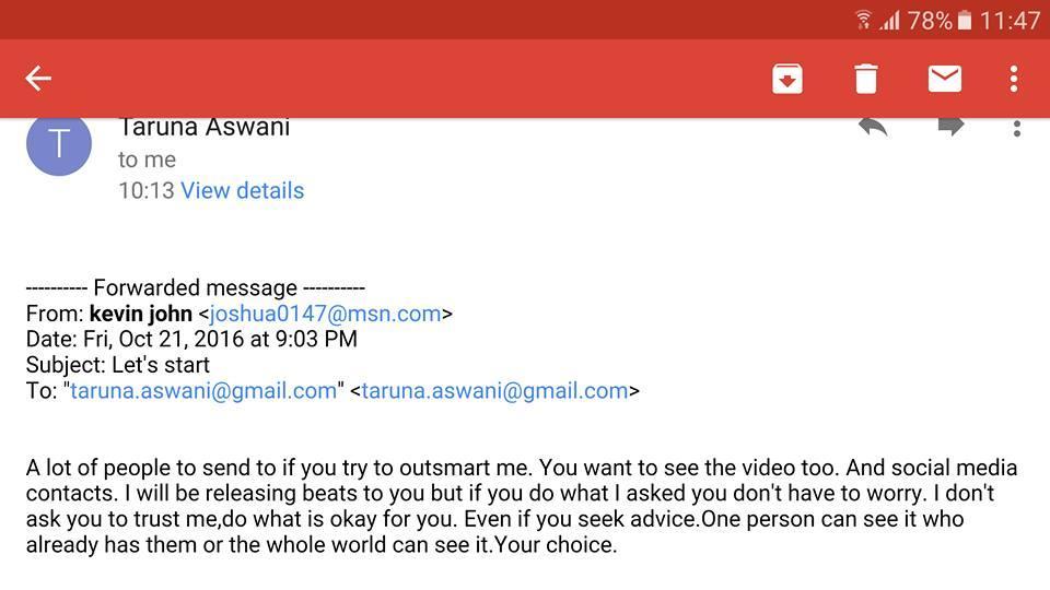 Taruna Aswani (Courtesy: Facebook)
