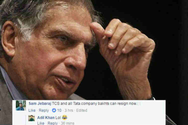 'Tata ka namak khaya hai': Social media stings Bhakts over Ratan Tata's intoleranceremarks