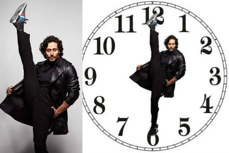 From bat mobile to clock needle: Twitterati go crazy about Tiger Shroff's flexi-pose
