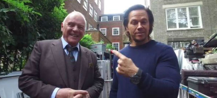 Anthony Hopkins and Mark Wahlberg