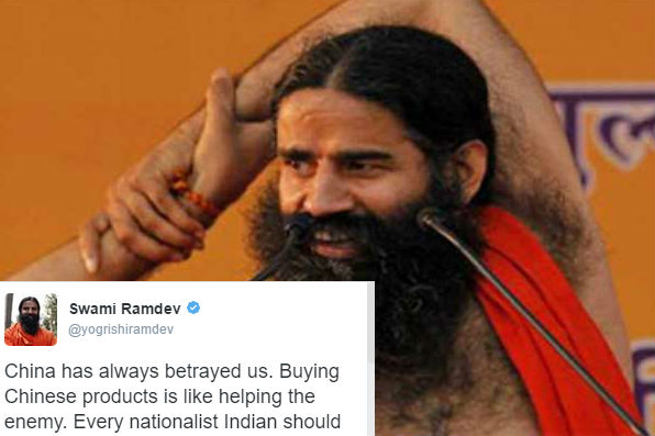 Dear Ramdev, when you have an iPhone, don't call for boycott of Chineseproducts