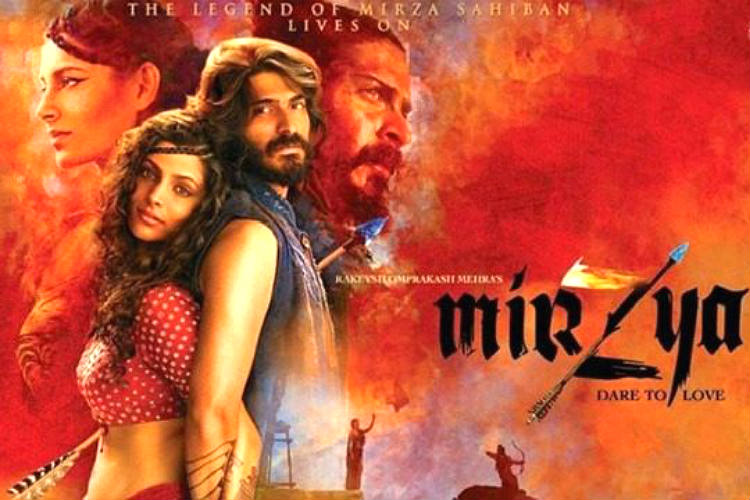 Mirzya movie poster for InUth.com