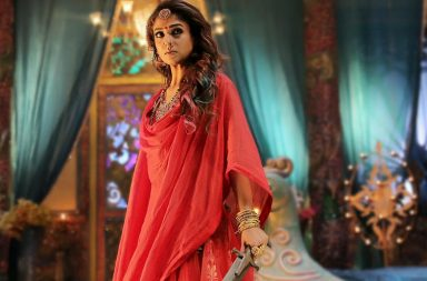 Nayanthara in Kaashmora Twitter image for InUth.com
