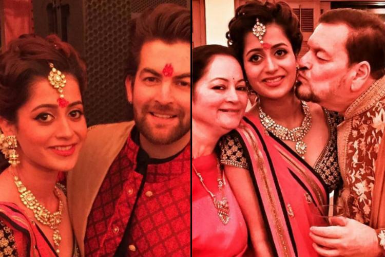 Neil Nitin Mukesh and fiancee Rukmini Sahay get trolled on Twitter postengagement