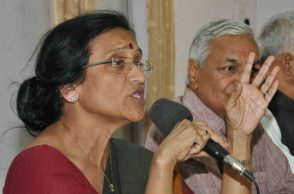 Rita Bahuguna Joshi served as UP Congress chief from 2007 to 2012. (Photo: Express/Vishal Srivastav)