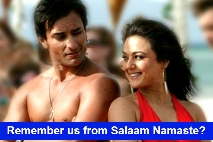 Salaam Namaste meme poster for InUth dot com