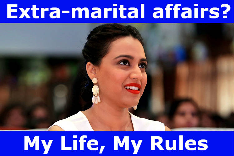 Swara Bhaskar IANS meme for InUth dot com
