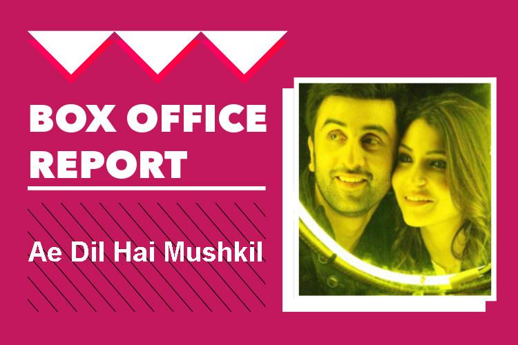 Box Office: Ae Dil Hai Mushkil reaches coveted Rs 100 cr clubworldwide