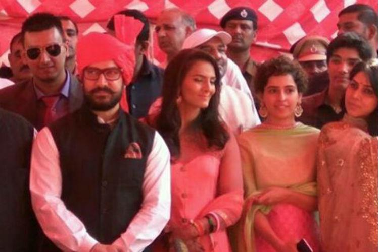 Aamir Khan, Geeta Phogat Wedding, Dangal