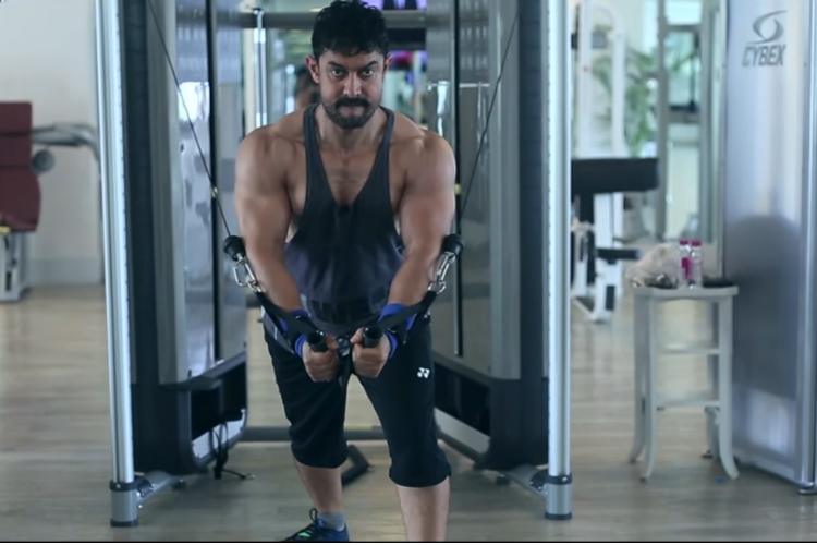Aamir Khan Dangal workout