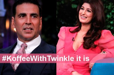 Akshay Kumar and Twinkle Khanna on Koffee With Karan Twitter photo for InUth.com
