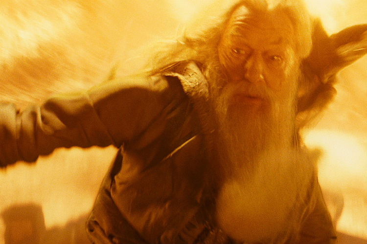 Albus Dumbledore Firestorm Harry Potter | Wiki Image For InUth.com