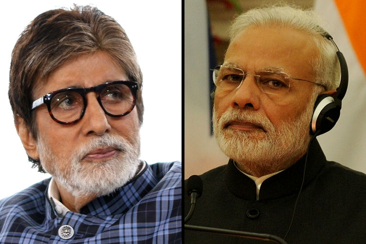 Amitabh Bachchan welcomes PM Narendra Modi's new currency notes announcements