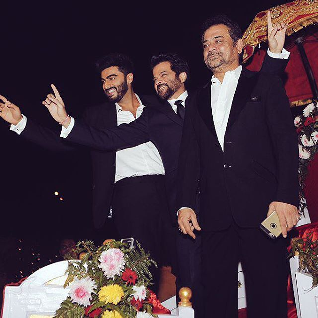 anil-kapoor-arjun-kapoor-anees-bazmee-mubarakan-instagram-photo-for-InUth.com