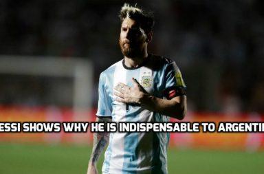 Lionel Messi, Argentina, World Cup qualifier, Messi
