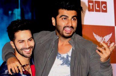 Arjun Kapoor and Varun Dhawan