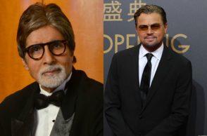 Amitabh Bachchan and Leonardo di Caprio. (Photo: Express)