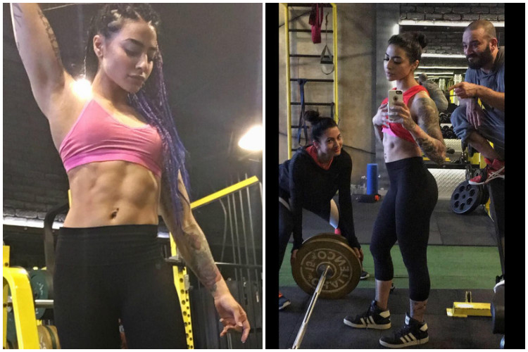 Watch: These insane workout videos of VJ Bani will make you hit the gym right away!