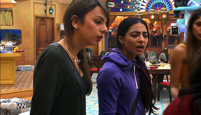 Bani and Nitibha in Bigg Boss 10 Colors TV photo for InUth.com