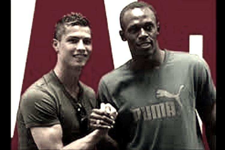 Usain Bolt, football