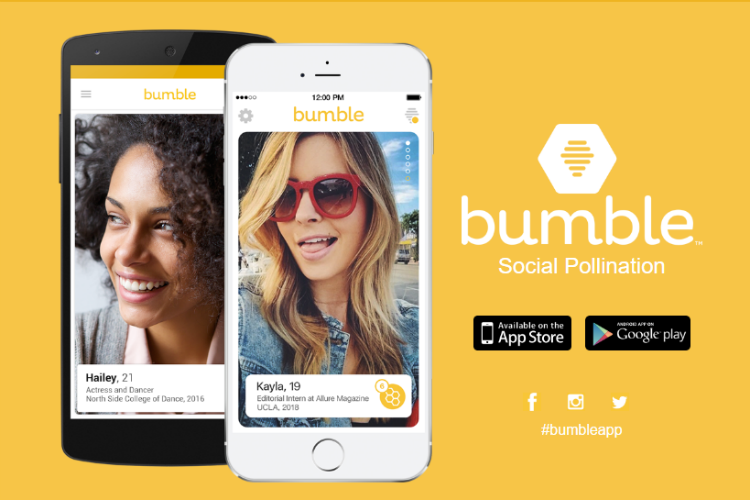 Bumble, online dating app
