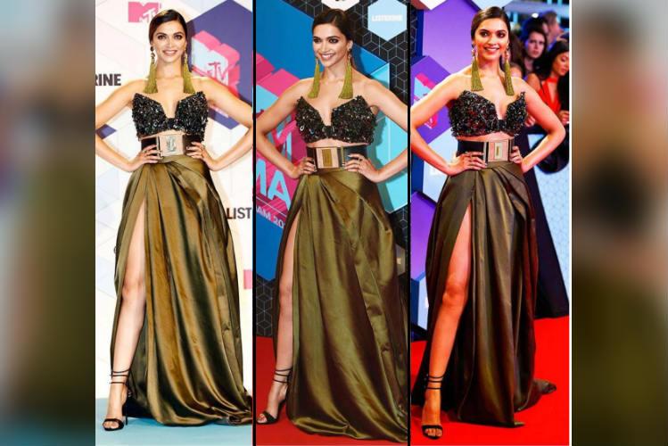 Deepika Padukone at MTV EMA 2016 (Courtesy: Instagram/ bollywoodstuff)