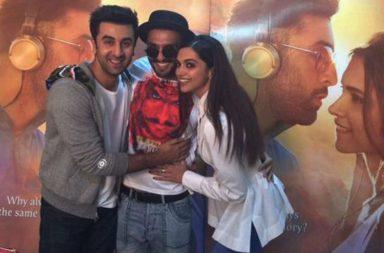 Deepika Padukone Ranveer Singh Ranbir Kapoor | Twitter Image For InUth.com