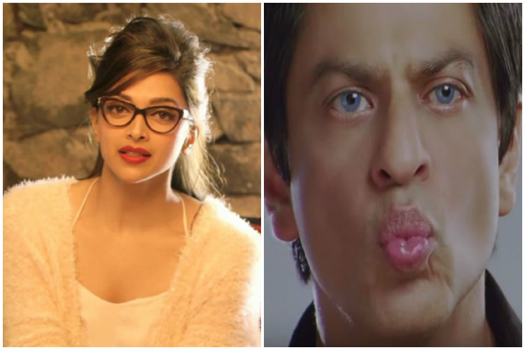 What's with your lips Shah Rukh? Deepika Padukone tells it all!