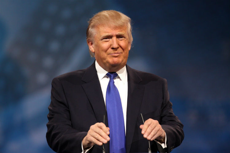 What a relief! Donald Trump says he is 'fine' with same sexmarriages