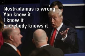 Donald Trump Nostradamus | AP Image For InUth.com