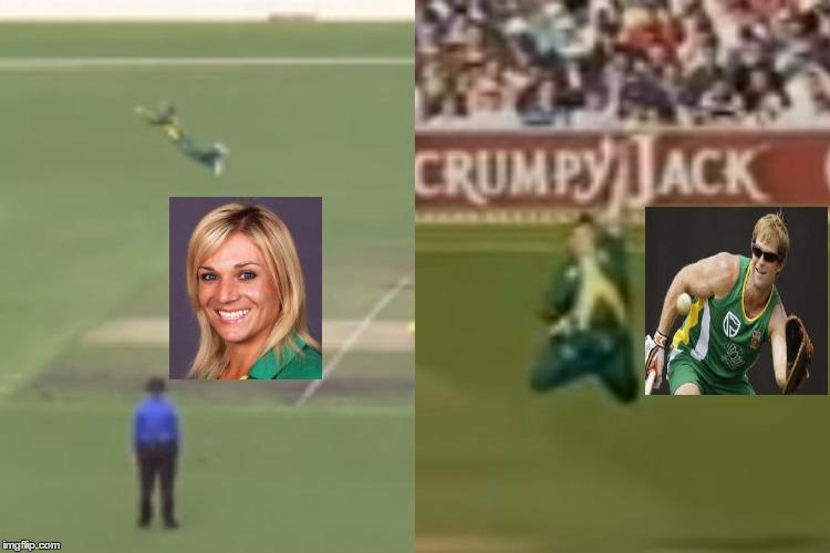 WATCH: This South African woman cricketer took a better catch than JontyRhodes