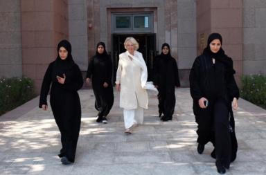 UAE, Camilla Parker Bowles